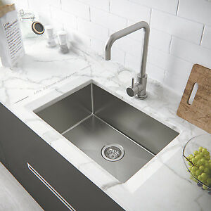 single bowl kitchen sink top mount stainless steel kitchen sink single narrow bowl undermount 9305