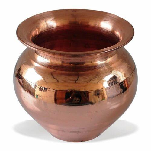 Kalash Lota Pooja Lota For Pray & Surya Namaskar, Pure 100% Copper 300 ML