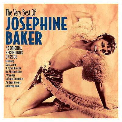 Josephine Baker VERY BEST OF 40 Original Recordings ESSENTIAL New Sealed 2