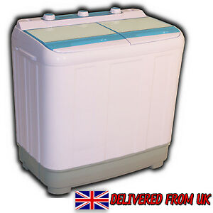 6 5kg portable twintub mini washing machine spin dryer - Mini machine a laver le linge ...