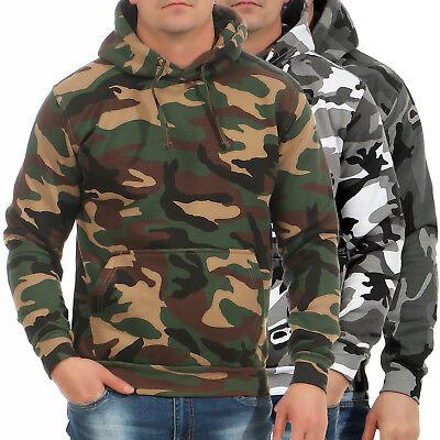 Game Herren Pullover Camo Camouflage Hoodie Kapuzenpulli Tarnmuster Camouflage Pullover Kapuze