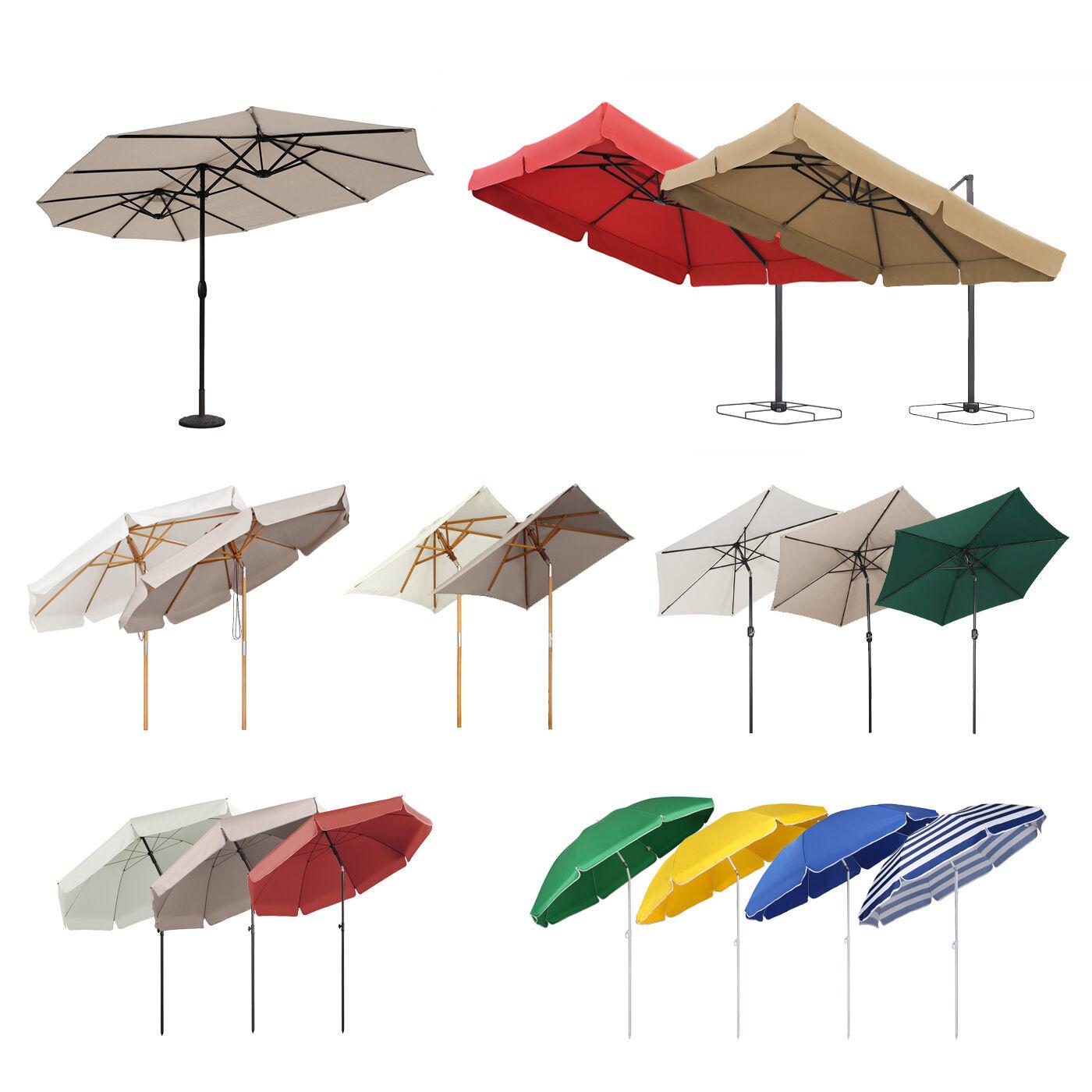 Qualitäts Sonnenschirm Ampelschirm Gartenschirm Marktschirm Kurbel Schirm Garten