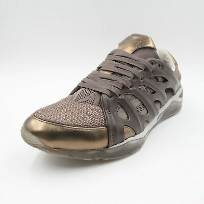 ALEXANDER MCQUEEN Mens Youths Brown Puma Ribcage Sneakers Trainers UK 6.5 BNIB