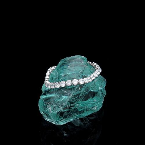"20.00TCW Round Cut Created Diamond 7.25"" Tennis Bracelet 925 Sterling Silver 5mm"