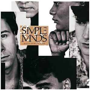 SIMPLE MINDS ONCE UPON A TIME CD ALBUM (4/12/2015)