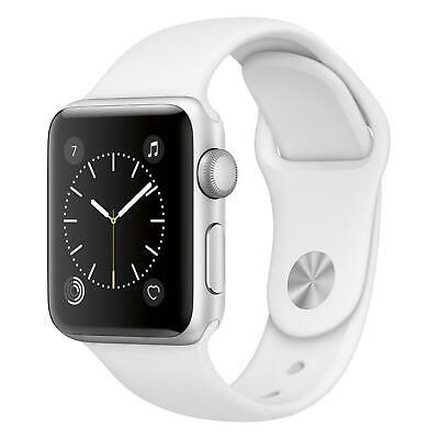 Apple Watch Series 2 - 38mm - Silver Case - White Sport Band (GPS)