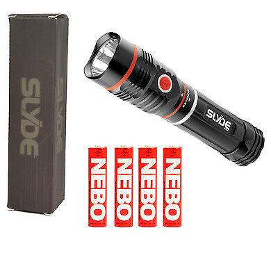 NEBO 6156 SLYDE 2-in-1 LED Flashlight / Work Light - 250 Lumens / 190 Lmns