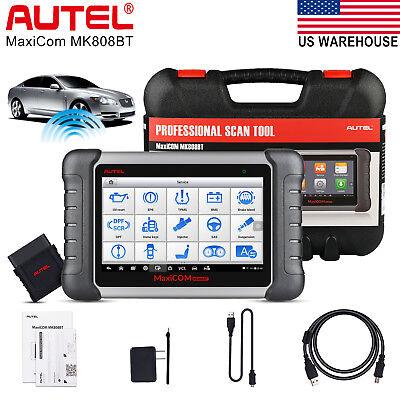 Autel MK808BT OBD2 Scanner Auto Diagnostic Tool Code Reader ABS SRS All System