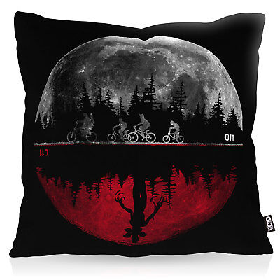 Upside Down stranger monster things demogorgon eleven Kissenbezug Outdoor Kissen