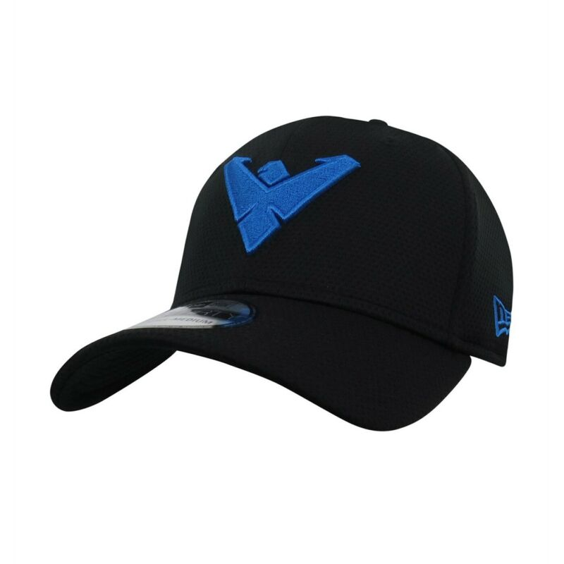 Nightwing Symbol 39Thirty Fitted Hat Black