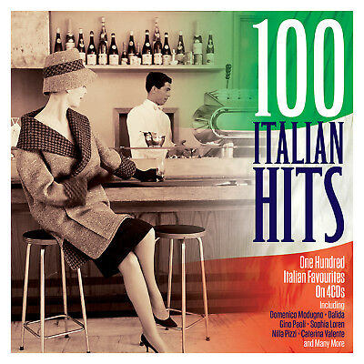 100 Italian Hits VARIOUS ARTISTS Best Of ESSENTIAL COLLECTION New Sealed 4 (Best 100 Italian Hits Collection)