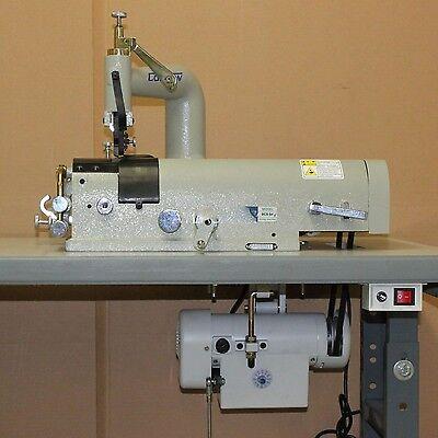 New Original Consew DCS-S4 Industrial Skiving Machine Comp. w/  K/D Servo Stand