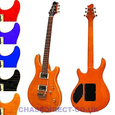 GUVNOR BY CHASE GE700 GUITAR ELECTRIC CHOICE OF COLOURS
