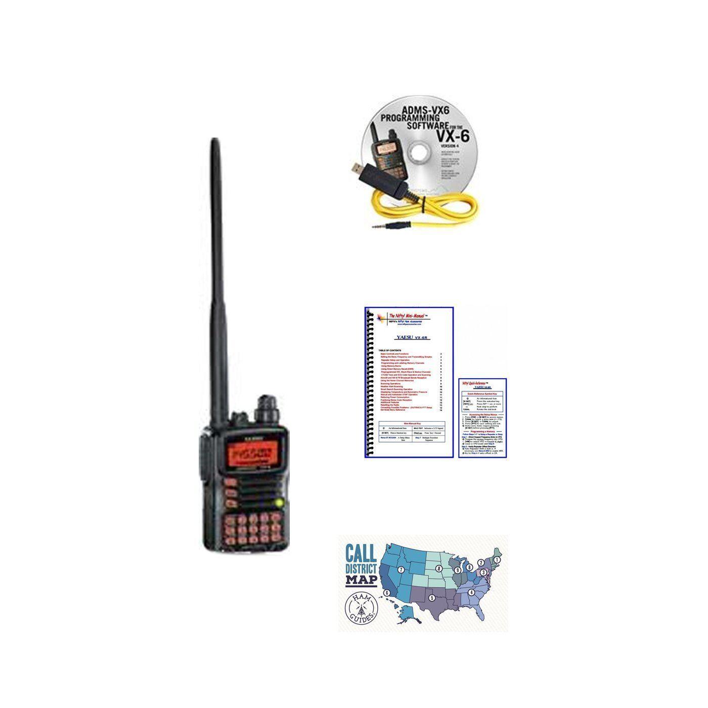 Bundle Alinco DJ-500T 2M/440 Dual-Band Handheld Radio & Ham Guides ...