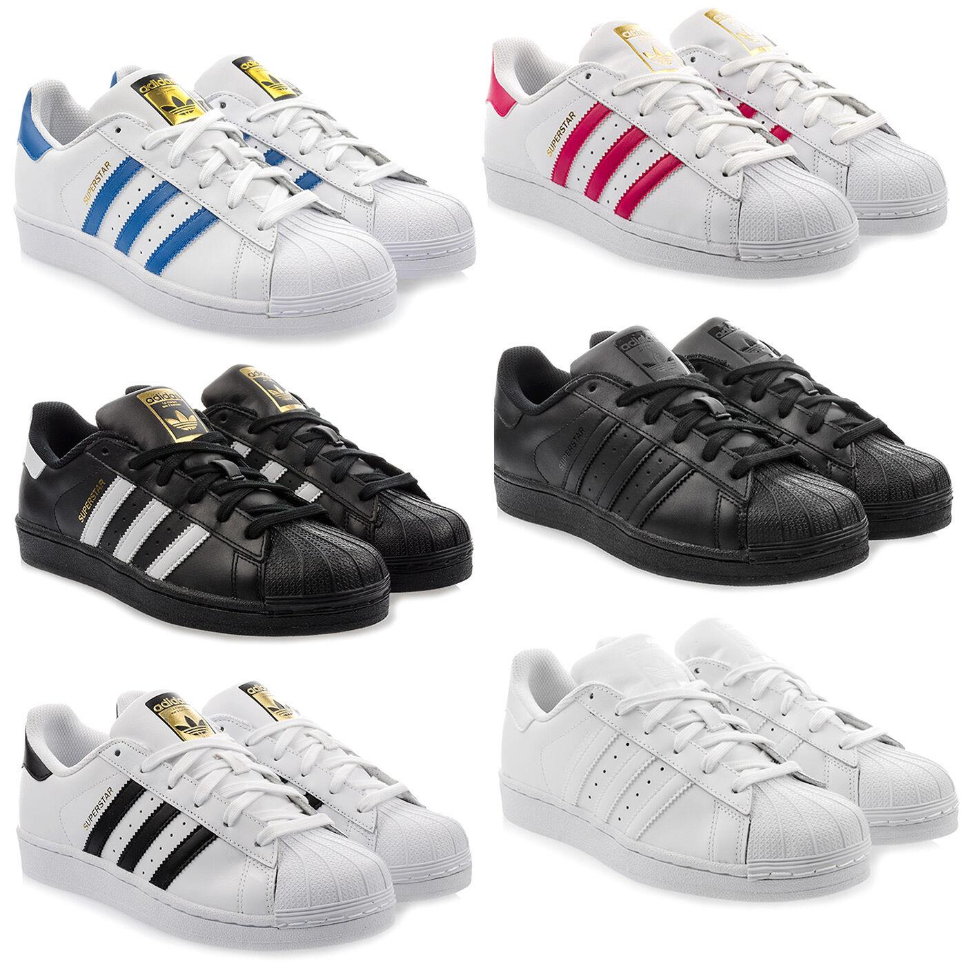ADIDAS ORIGINALS SUPERSTAR  Sneaker Schuhe Turnschuhe Damen Jungen Unisex Farbe