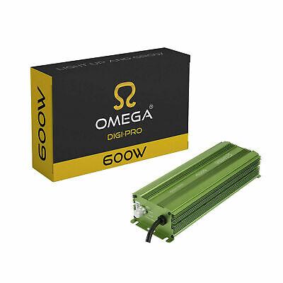 Omega 600W (240V) Digi-Pro Digital Dimmable Ballast Hydroponics Grow Light Kit