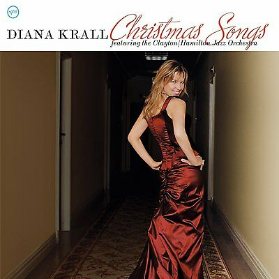 Diana Krall Christmas Songs Clayton Hamilton Jazz Orchestra Verve New Vinyl Lp