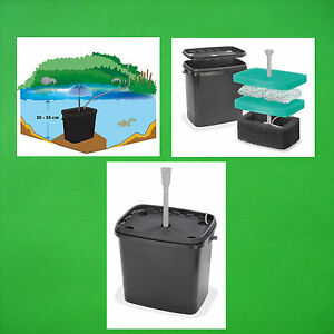 Filter box pond filter for solar pump pond pump for Solar water filter for ponds