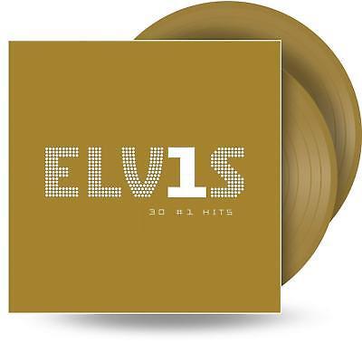 ELVIS PRESLEY - 30 #1 HITS 2 X GOLD VINYL LP (GREATEST HITS) (PRE-Order 5/10/18)