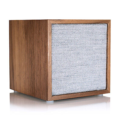 TIVOLI AUDIO -arte Calzoncillos Cube WALNUT Gris Altavoz WIRELESS