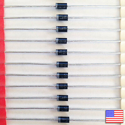 50x (50pcs) 1N4004 Rectifier Diode 1A 400V IN4004 - US Seller - Free Shipping