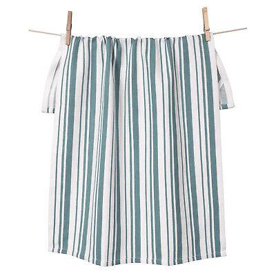 KAF Home Basketweave Oversized Kitchen Towel, 100% Cotton, Teal