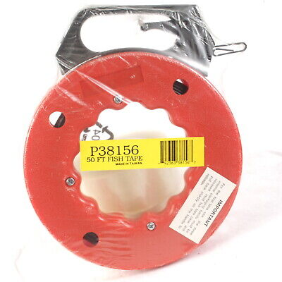 40 Foot 40 Steel Fish Tape New Sealed - Cable Puller Electric Line Puller