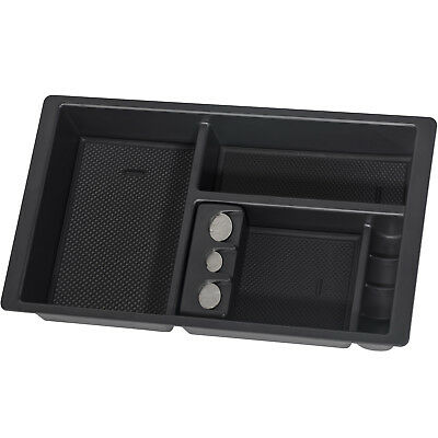 Center Console Insert Organizer Tray Fits 14-19 GMC Chevy Suburban Tahoe Black