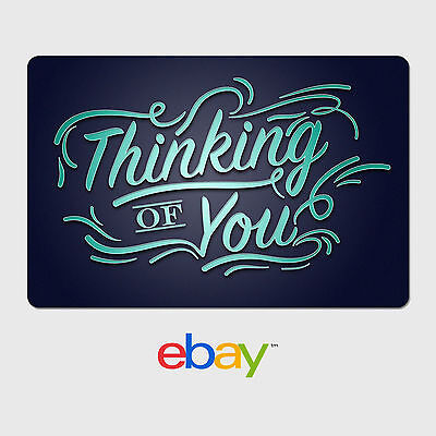 eBay Digital Gift Card - I love you, Thinking of you - Fast Email Delivery
