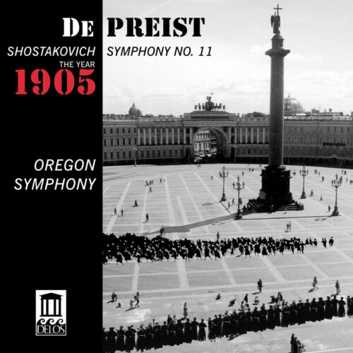 James+DePreist+%28Dir%29+Shostakovich+Symphony+No.+11+The+Year+1905+CD+NEW+%26+SEALED