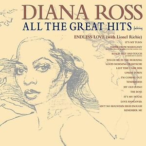 DIANA ROSS ALL THE GREAT HITS CD ALBUM (BEST OF / GREATEST HITS)