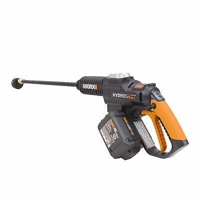 WG630 20V 4.0 MaxLithium Hydroshot Cordless Portable Cleaner w/ Brushless Motor