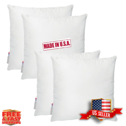 polyester stuffing in cotton cover Heavy Square//Rectangle Shape Pillow Insert