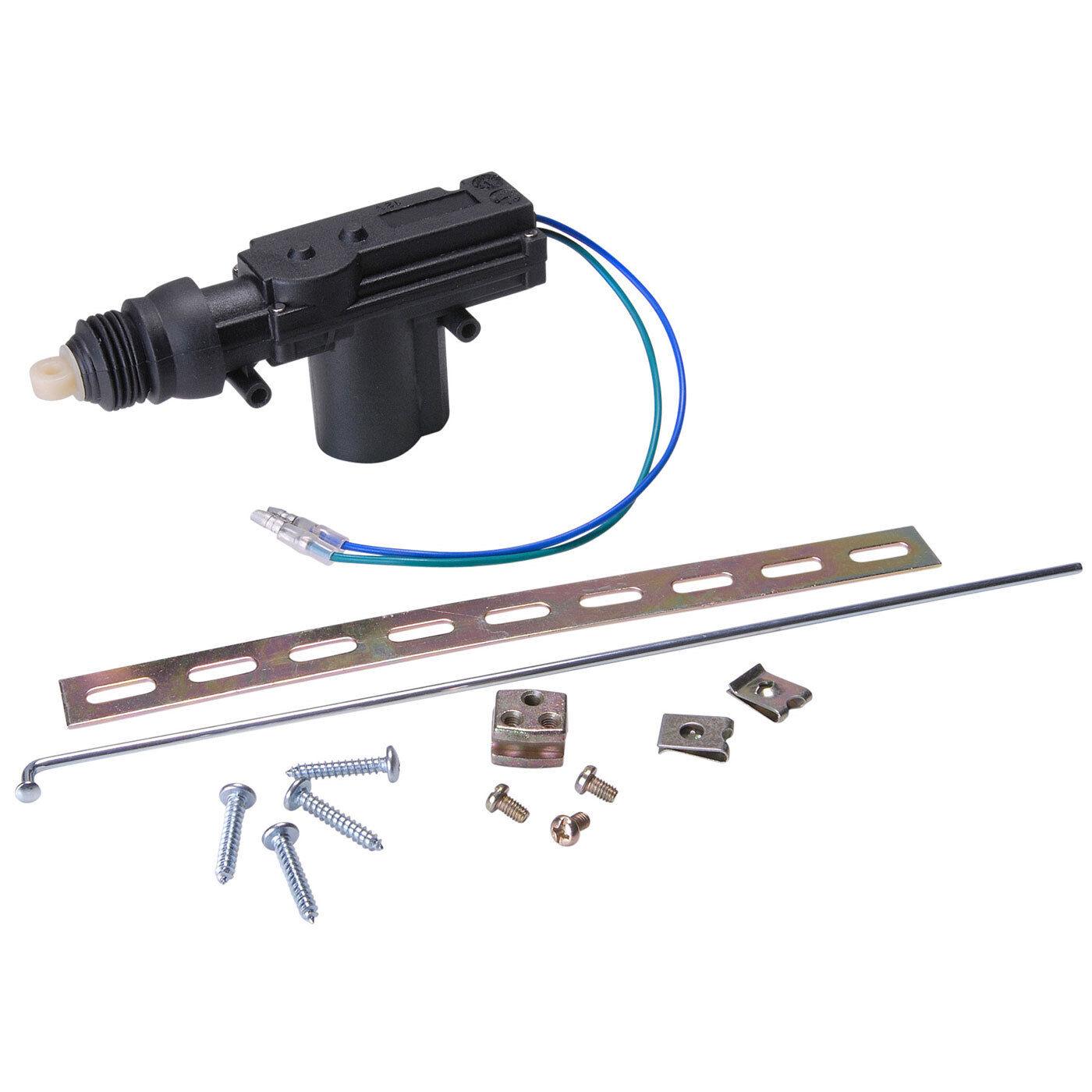 High Power Door Lock Actuator 2 Wire Ebay Universal Wiring Diagram