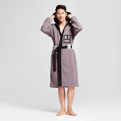 Men's Star Wars Darth Vader Robe - Gray Size S / M-Comfy(10)