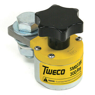 Tweco 300 Amp Smgc300 Switchable Magnetic Ground Clamp 9255-1061