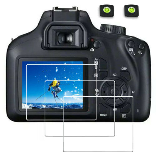 Screen Protector for canon eos rebel t7i t6s Camera Tempered Glass 9H hard 3PS