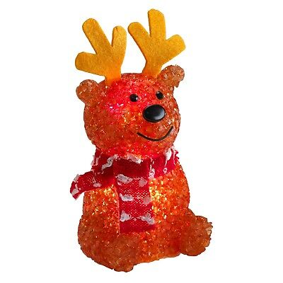 New ! Philips Christmas USB Powered LED Reindeer with Red Scarf (Led Reindeer)
