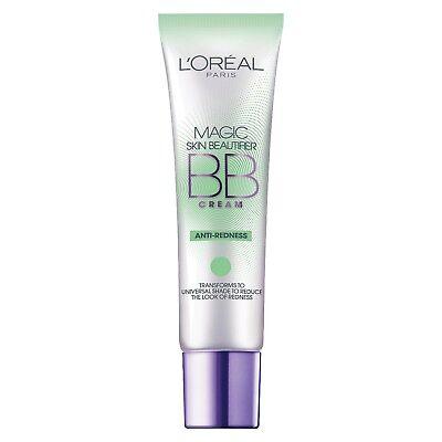 Loreal Paris Magic Skin Beautifier BB Cream Anti-Redness 1.0 OZ. (Green