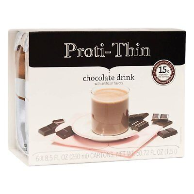 Proti-Thin - Anytime Drink - Chocolate - Low Calorie RTD -