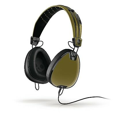 Skullcandy Aviator Supreme Sound Headphones With Mic3 In Green Black Roc Nation