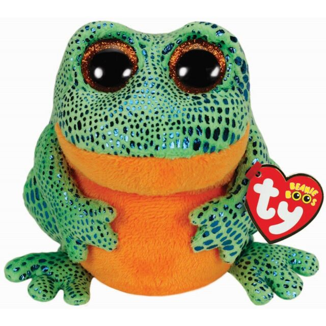 Ty Beanie Babies 36123 Boos Speckles the Frog Boo