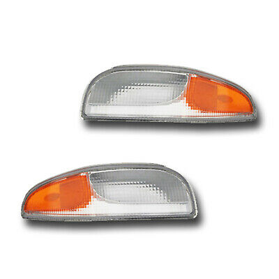 Fits 97-04 Chevrolet Corvette Left + Right Turn Signal Parking Light Lamp 1 - Fits Chevrolet Corvette