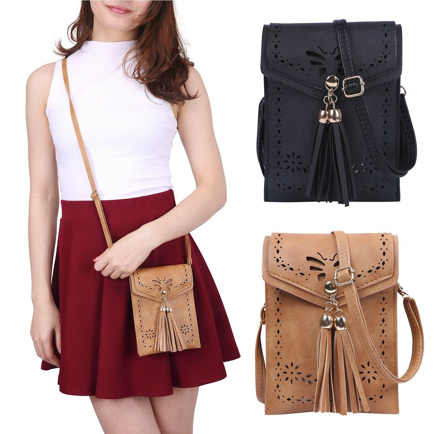 womens handbags small leather crossbody bag purse
