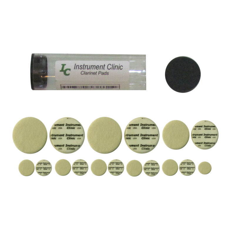 Premium Clarinet Pad Set! 3.0mm Thick, Made in USA!