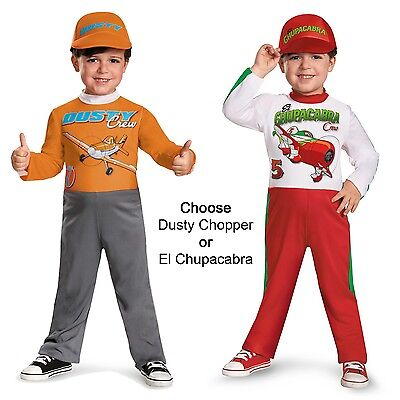 Child Toddler Disney Pixar Movie Planes Chopper / El Chupacabra Pit Crew