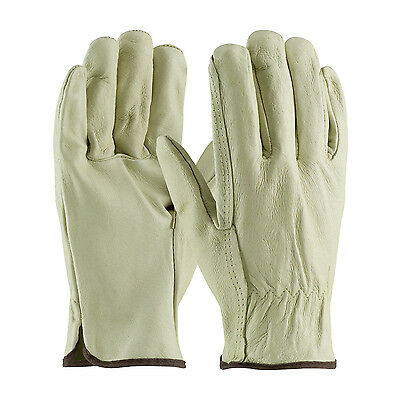 Drivers Straight Thumb - PIP 70-300/L Top Grain Pigskin Drivers, Industry Grade, Straight Thumb Gloves