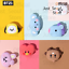 miniature 1 - Official BTS BT21 Baby Face Jelly Airpods Pro Case Cover+Freebie+Tracking Kpop