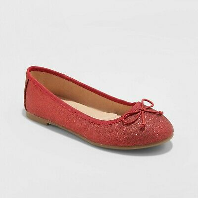 Girls' Chiara Ballet Flats - Cat & Jack - Choose Size!
