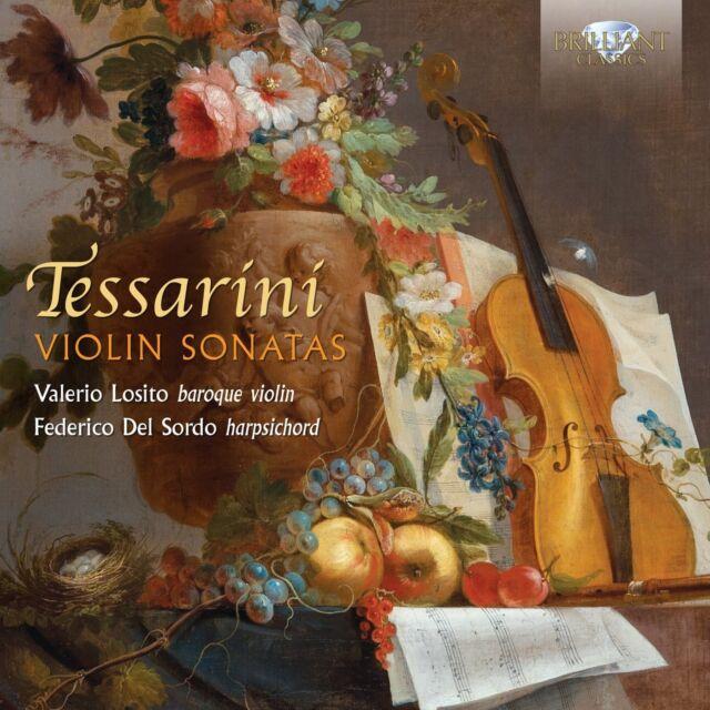 VALERIO/DEL SORDO,FEDERICO LOSITO - VIOLIN SONATAS  CD NEU